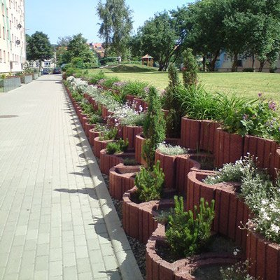 zieleń osiedlowa