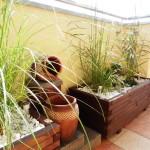 pokój ogrodowy