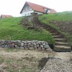 schody ogrodowe